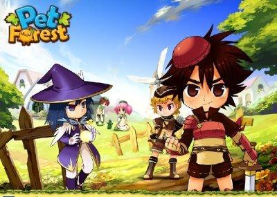 playomg 推出《宠物丛林》英文版《pet forest》18 日公测
