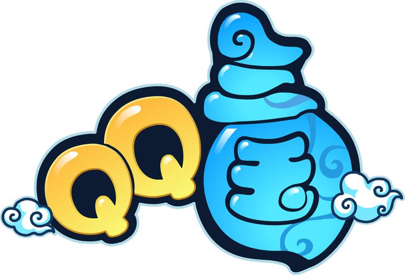 Q版手持台卡通图片