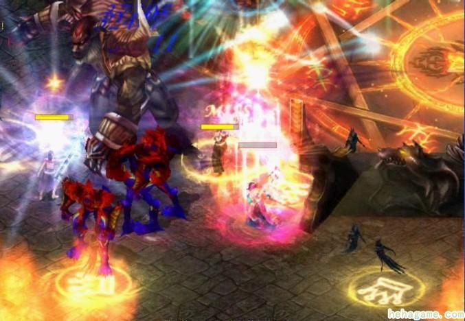 《魔域online》全新改版「灭世魔劫」 最强boss阿拉玛