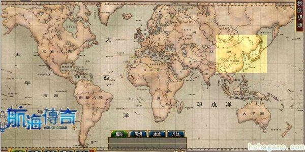 史诗级web game《帆海传说》便宜争端重心—船埠选址全攻略