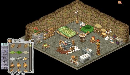石器期间网页游戏《宠物物语sapetite》战役&小屋体例揭密!!?