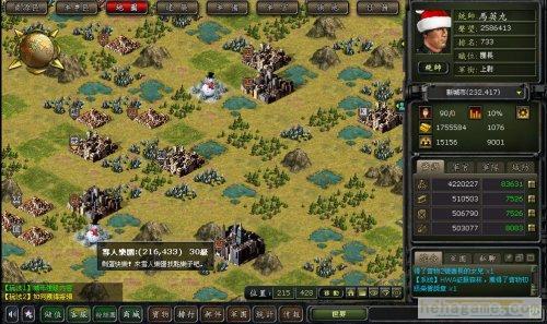 圣诞节《第二次世界大战风波web》『雪人乐土』与玩家同欢!