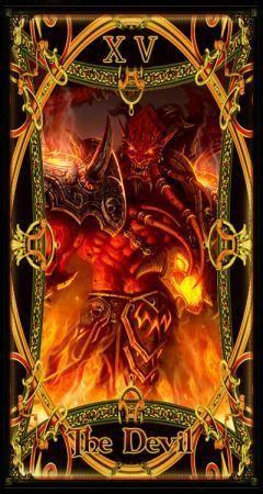 玩家自制《魔兽世界》主题精美塔罗牌
