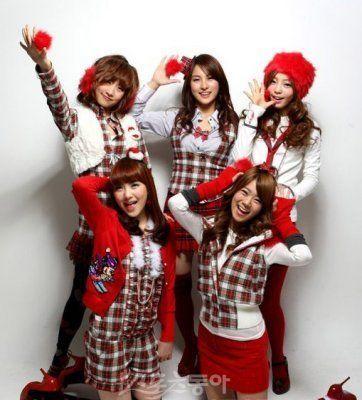 韩国可爱女生组合代言音乐游戏多图