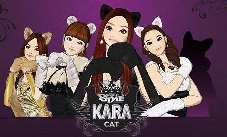 韩国超人气女子团体kara�O场